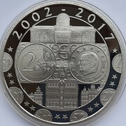 Token - Anniversary of the Euro – obverse