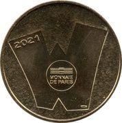 Jeton Touristique - Monnaie de Paris - Walibi Belgique - Kondaa – reverse
