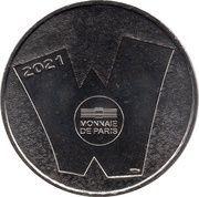 Jeton Touristique - Monnaie de Paris - Walibi Belgique - La mascotte – reverse