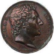 Médaille, Nicolas-Antoine-Joseph Ansiaux. 1835. – obverse