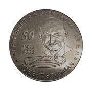Jeton - ROBERT SCHUMAN 1958-2008 – obverse