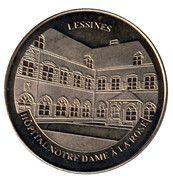 National Tokens Belgian Heritage - Lessines (Hôpital Notre-Dame à la Rose) – obverse
