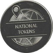 Token - National Tokens (Covid-19)(2021) – reverse