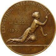 Médaille - Exposition Internationale de Liège (1930) – obverse