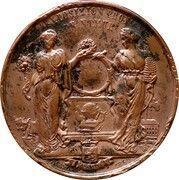 Médaille - Exposition Provinciale de Namur (1849) – reverse