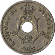 10 Centimes - Léopold II (French text - Small date) -  obverse