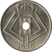 5 Centimes - Léopold III (BELGIQUE-BELGIE) – obverse
