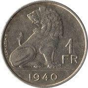 1 Franc - Léopold III (BELGIE-BELGIQUE) -  reverse
