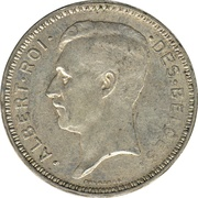 20 Francs - Albert I (French text) – obverse