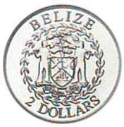 2 Dollars - Elizabeth II (Independence) -  obverse