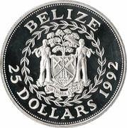 25 Dollars - Elizabeth II (Olympics) – obverse