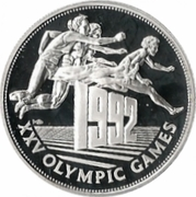 25 Dollars - Elizabeth II (Olympics) – reverse