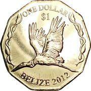 1 Dollar - Elizabeth II (Central Bank) – reverse