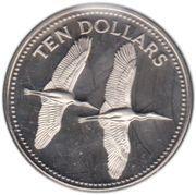 10 Dollars - Elizabeth II (Jabirus) – reverse