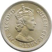 5 Cents - Elizabeth II (1st portrait; World Food Day) – obverse