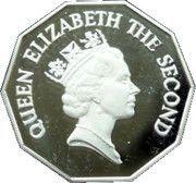 1 Dollar - Elizabeth II (Piedfort) – obverse