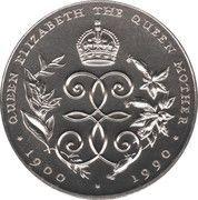 2 Dollars - Elizabeth II (Queen Mother) – reverse