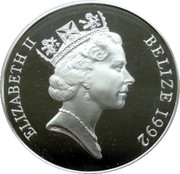 5 Dollars - Elizabeth II (Montgomery) – obverse