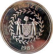 10 Dollars - Elizabeth II (Silver Proof Issue) – obverse