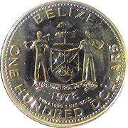100 Dollars - Elizabeth II (Itzanma) – obverse