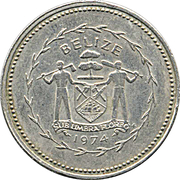 10 Cents - Elizabeth II (Long-tailed Hermit) – obverse