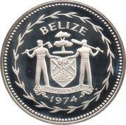 10 Dollars - Elizabeth II (Great Curassow; silver) – obverse