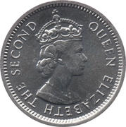 5 Cents - Elizabeth II (1st portrait) -  obverse