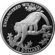 10 Dollars (Endangered Wildlife) – reverse