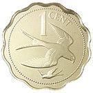 1 Cent - Elizabeth II (Swallow-tailed Kite) – reverse