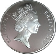 25 Dollars - Elizabeth II (500th Anniversary of discovery of New World) – obverse