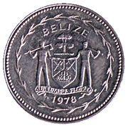 25 Cents - Elizabeth II (Blue-crowned Motmot) – obverse