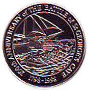 2 Dollars - Elizabeth II (Battle of St. George's Caye) – reverse