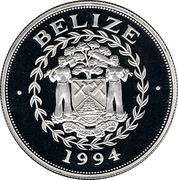 10 Dollars - Elizabeth II (World Cup 1994) – obverse