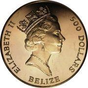 500 Dollars - Elizabeth II (Coronation Jubilee) – obverse