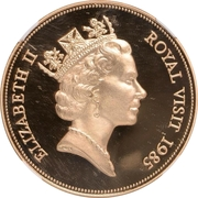 500 Dollars - Elizabeth II (Royal visit) – obverse