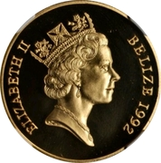 250 Dollars - Elizabeth II (Battle of El Alamein) – obverse