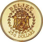 250 Dollars - Elizabeth II (Central Bank) – obverse