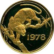250 Dollars - Elizabeth II (Jaguar) – reverse