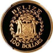 100 Dollars - Elizabeth II (Independence) – obverse