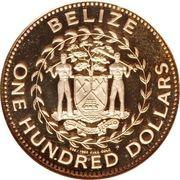 100 Dollars - Elizabeth II (Ocelot) – obverse