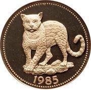 100 Dollars - Elizabeth II (Ocelot) – reverse