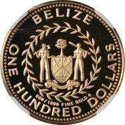 100 Dollars - Elizabeth II (Independence) -  obverse
