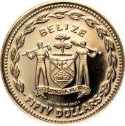 50 Dollars - Elizabeth II (Hummingbird) – obverse