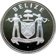 25 Dollars - Elizabeth II (Caribbean Development Bank) – obverse