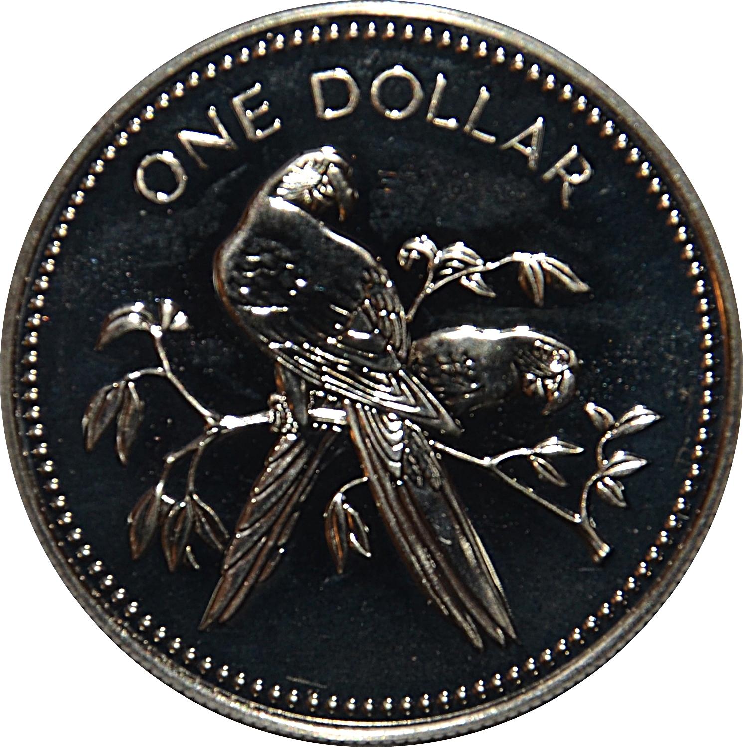 UNC Belize 1 Dollar P.43 1983