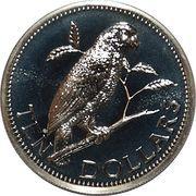 10 Dollars - Elizabeth II (Amazon Parrot) – reverse