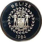 5 Dollars - Elizabeth II (Toucan) – obverse