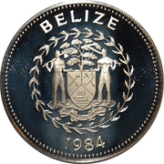 10 Dollars - Elizabeth II (Falcon) – obverse