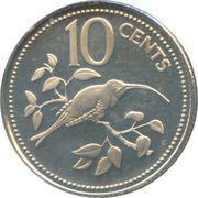 10 Cents - Elizabeth II (Long-tailed Hermit) – reverse