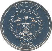 50 Cents - Elizabeth II (Frigate Birds) – obverse